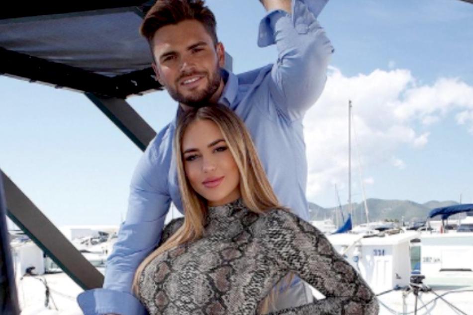 Jessica Paszka (30) und Johannes Haller (33) erwarten ein Mädchen.