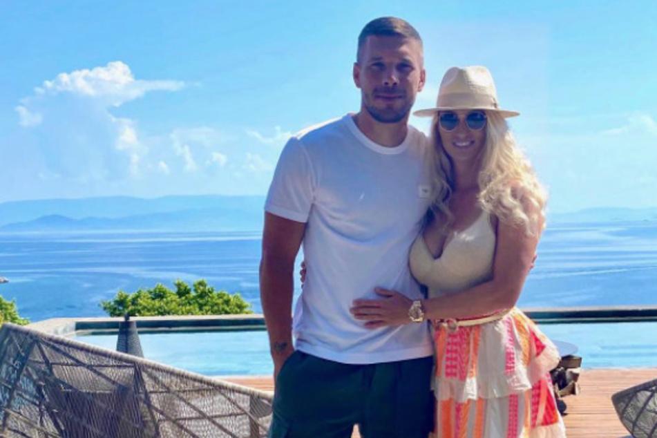 Lukas Podolski und seine Frau Monika sind seit 2004 ein Paar.