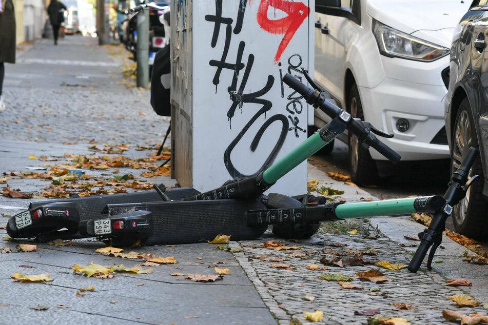 Berlin: Ärgernis E-Roller: Berlin will mit neuem Gesetz für Ordnung sorgen