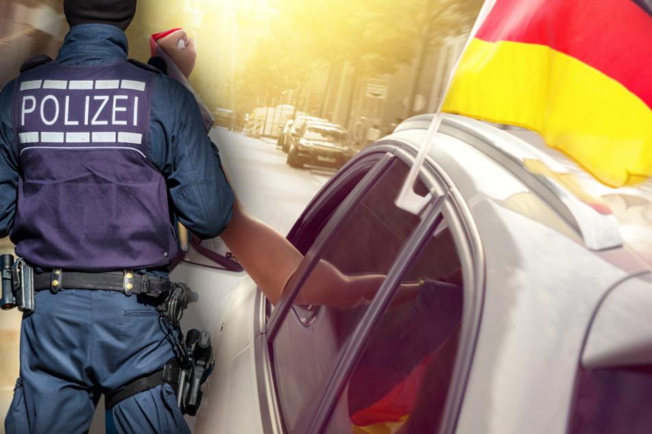 Nach deutschem EM-Sieg gegen Portugal: Autokorso endet wegen 367-PS-BMW beinahe tragisch