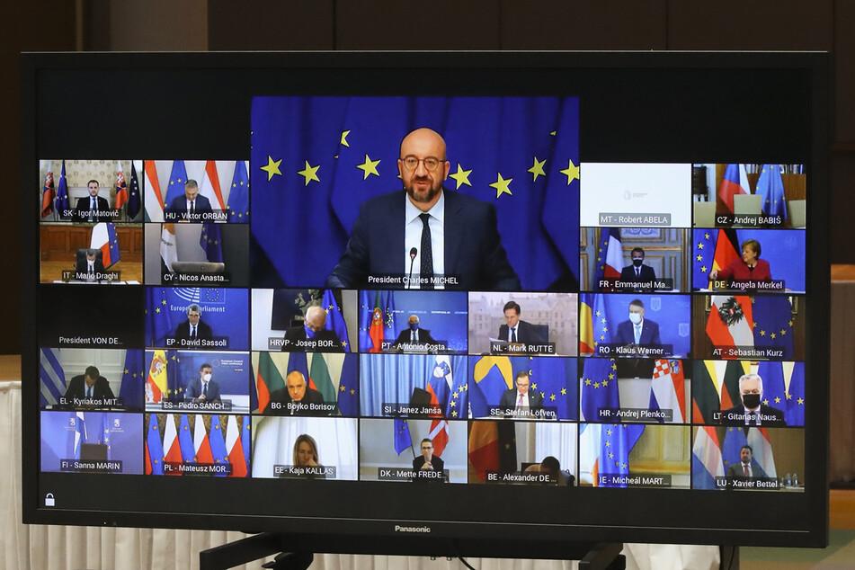 Beim digitalen Videogipfel gab es viel Streit. Doch eine gemeinsame Linie fanden die 27 Staaten zur Türkei.