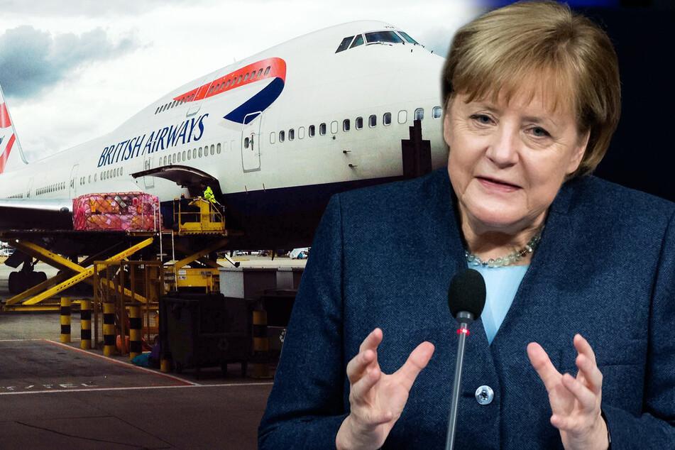 Landungen aus Großbritannien verboten: Reisende harren auf Feldbetten in Flughäfen aus!