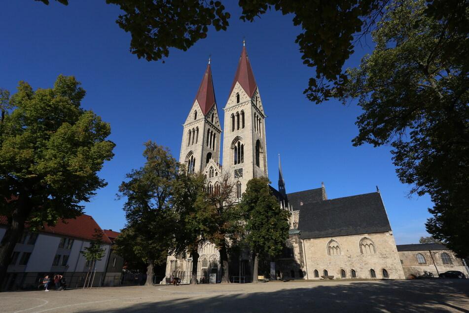 Im Halberstädter Dom St. Stephanus ist auch der Domschatz untergebracht.
