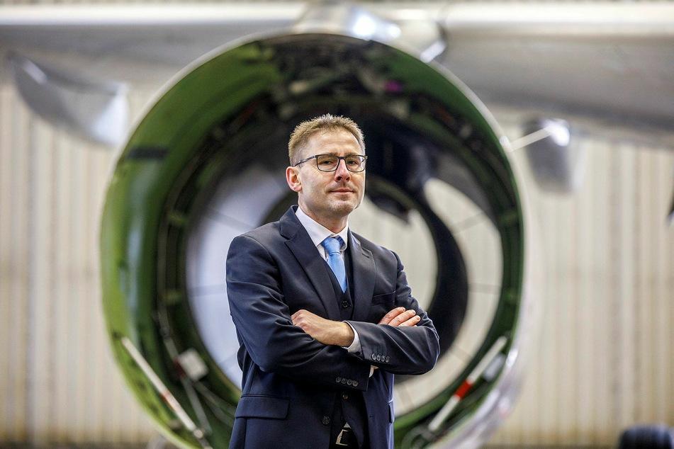 Der Regisseur: Kay-Uwe Hörl (47) leitet das Pilotprojekt der Elbeflugzeugwerke in Rothenburg.