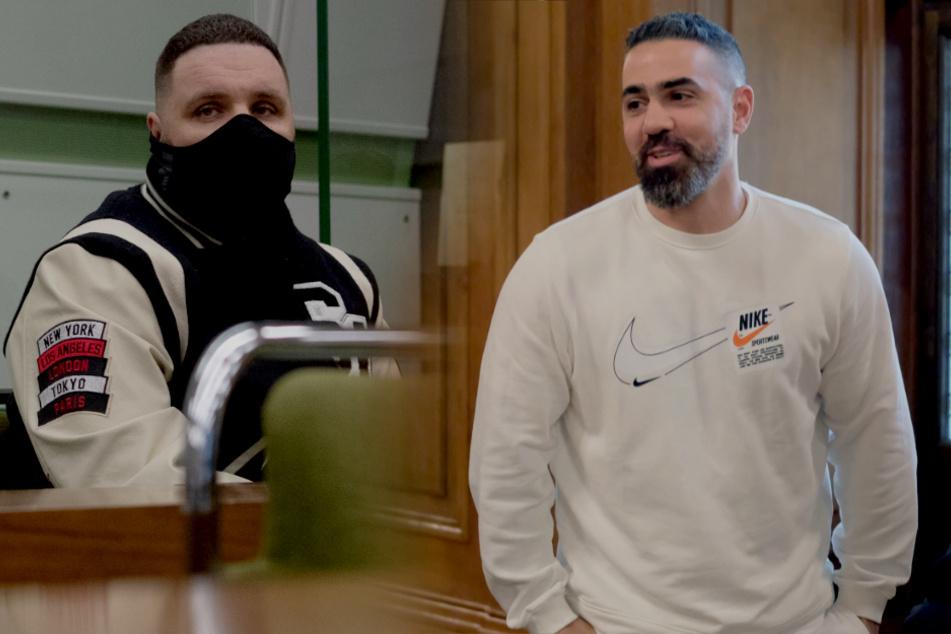 Einer im Zeugenstand, der andere auf der Anklagebank: Bushido und Fler heute gleichzeitig vor Gericht!