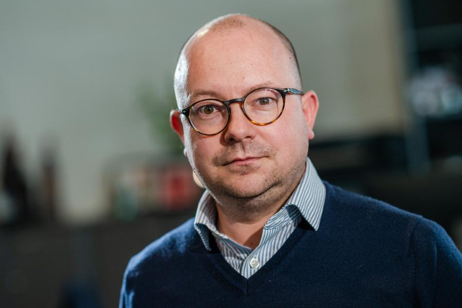 Hält nichts von weiteren Tempo-50-Zonen auf dem Chemnitzer Südring: Stadtrat Frank Müller-Rosentritt (FDP, 38).