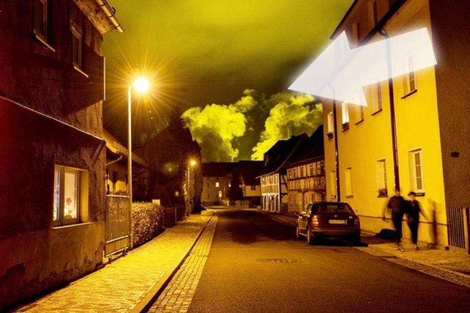 Dieses mysteriöse Leuchten erhellt ein ganzes Dorf