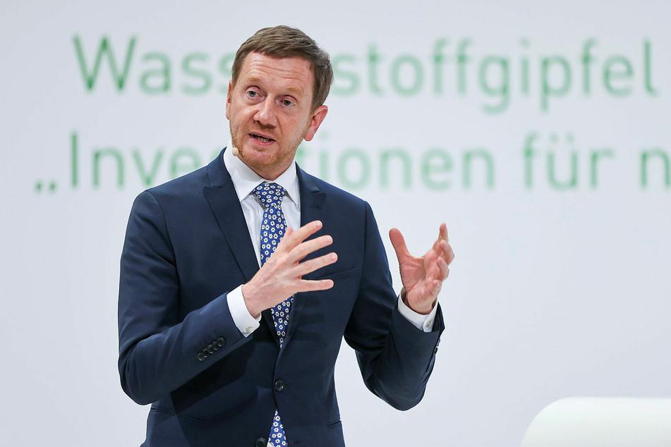 Zufrieden: Sachsens MP Michael Kretschmer (46, CDU).