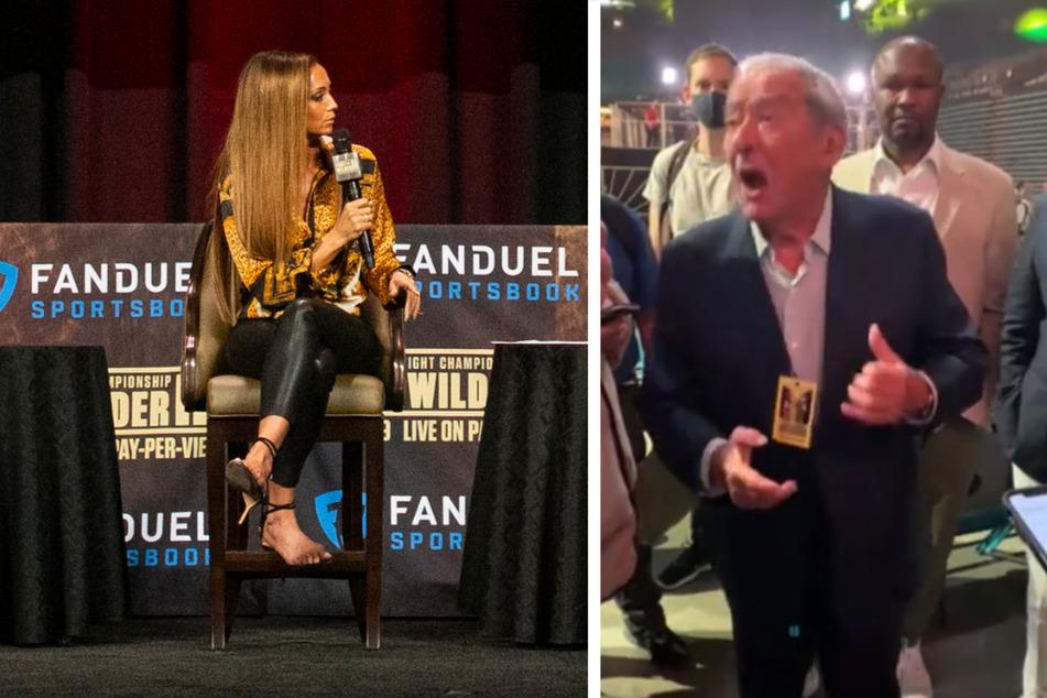Promoter von Tyson Fury beleidigt TV-Moderatorin und sorgt für Eklat