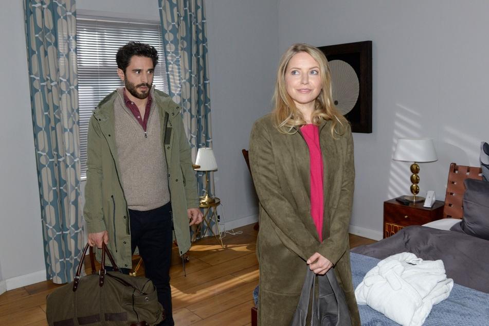 Noch ahnt Melanie nichts von der anderen Frau in Tobias' Leben.