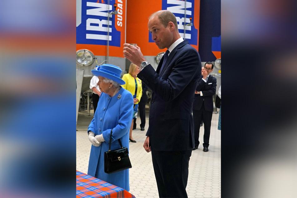 Königin Elizabeth II. (95) und Prinz William (39) unternahmen eine traditionelle Reise nach Schottland anlässlich der Holyrood Week.