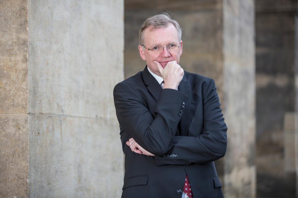 Detlef Sittel (54, CDU) ist (noch) Dresdens Ordnungsbürgermeister und gleichzeitig OB-Vertreter.