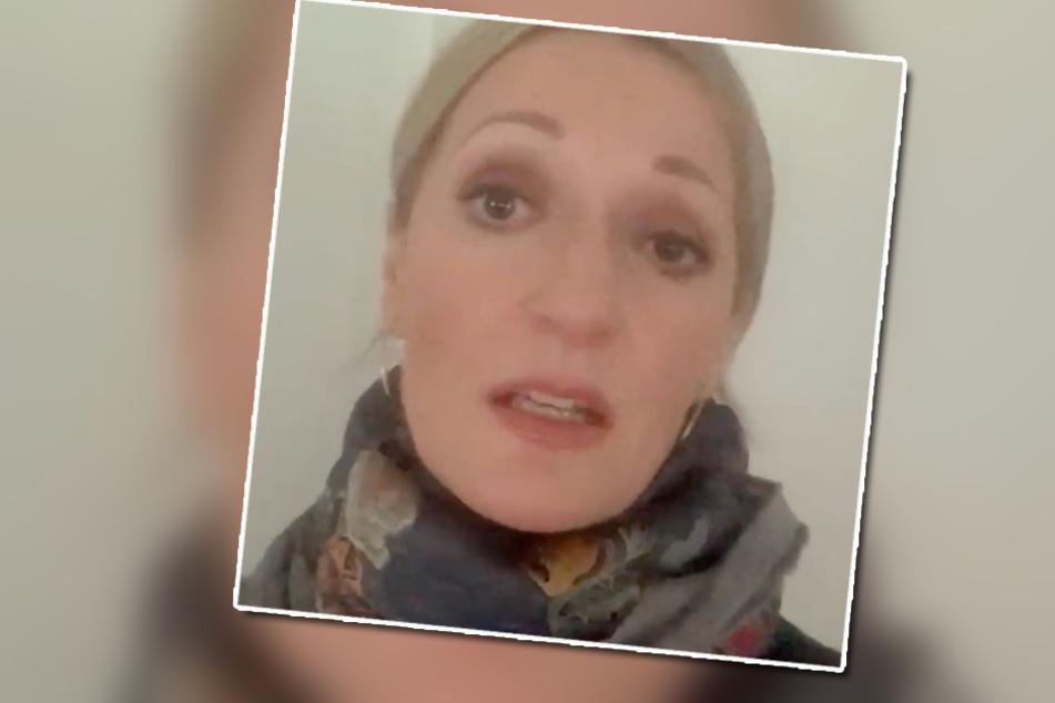 In ihrem Internetvideo findet die Kabarettistin deutliche Worte.