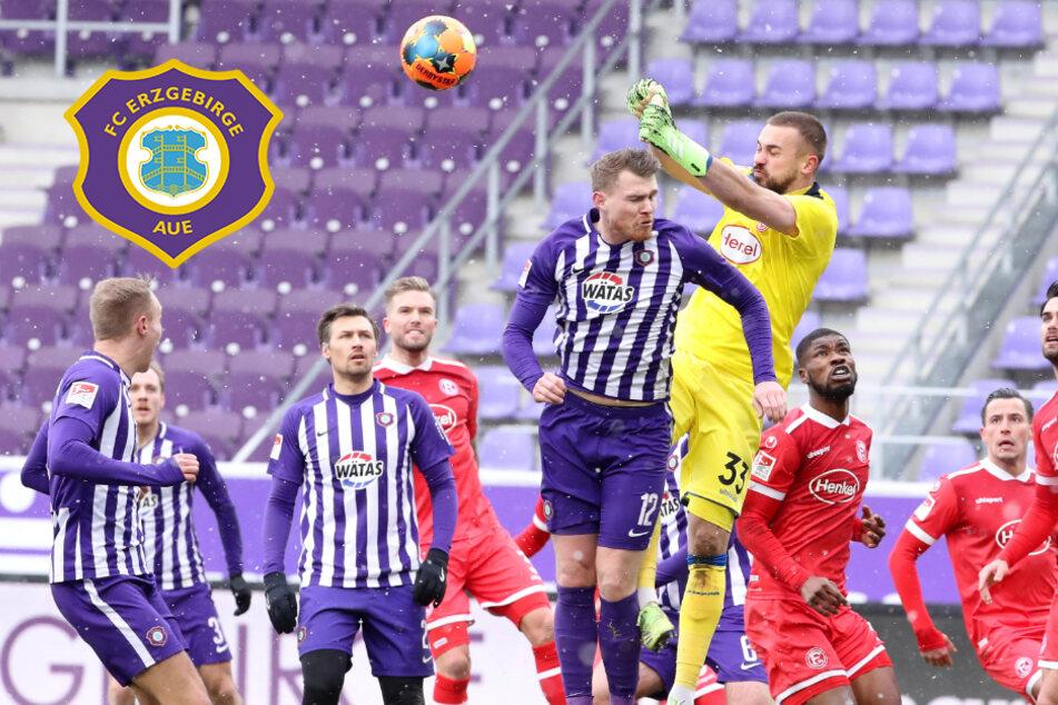 Klare Aue-Pleite gegen Düsseldorf! FCE kassiert nächste Niederlage