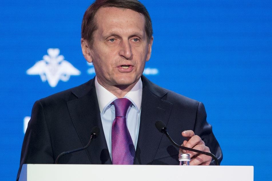 Sergej Naryschkin (66), Chef des russischen Auslandsgeheimdienstes.