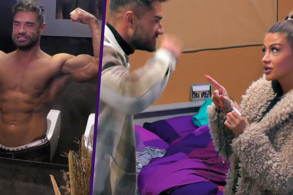 Schock-Moment im TV: Aggro-Aleks hebt die Faust, dann kracht es