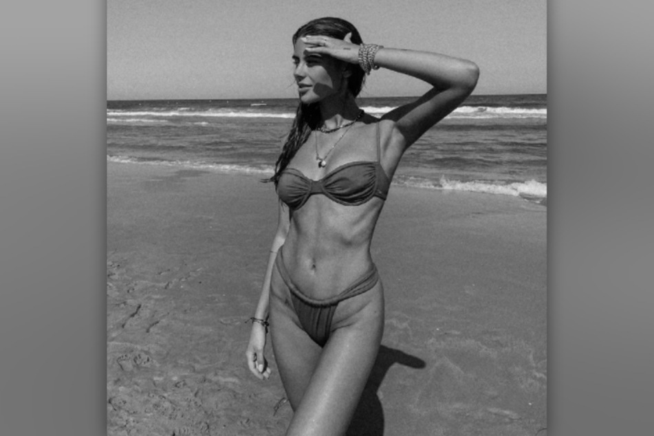 Romina Palm (22) präsentiert sich im Modeljob sowie als Influencerin bei Instagram in knappen Outfits.