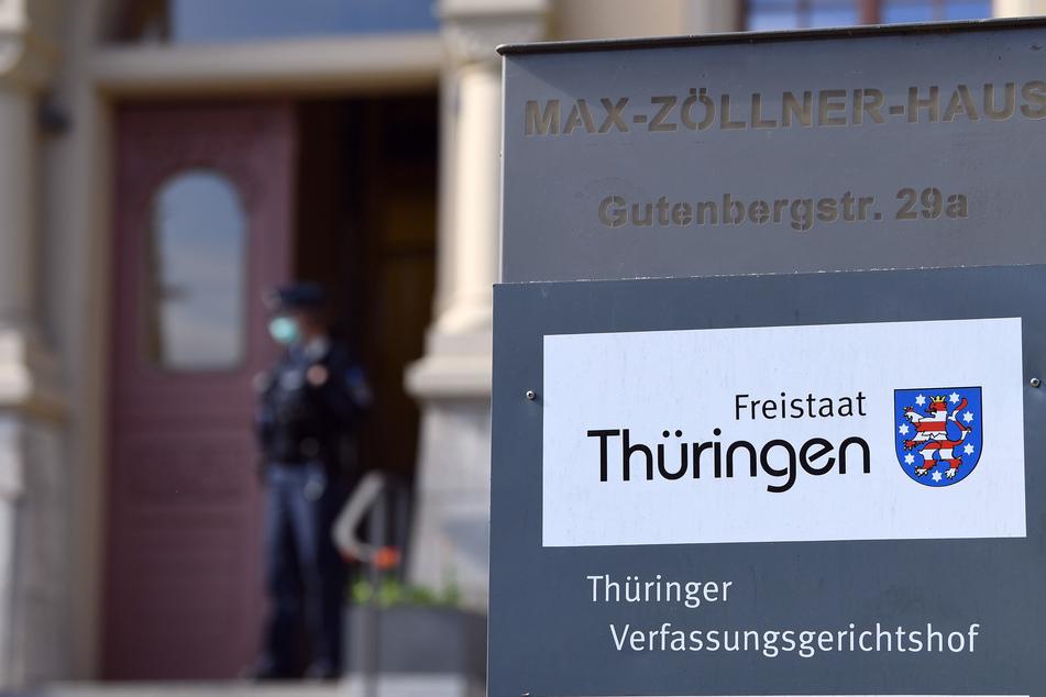 Verfassungsgerichtshof in Weimar. (Symbolbild)