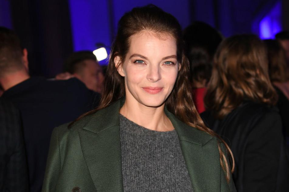 Yvonne Catterfeld (40) bei der Berlinale 2020.