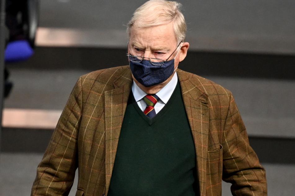 Der AfD-Co-Vorsitzende Alexander Gauland (79).
