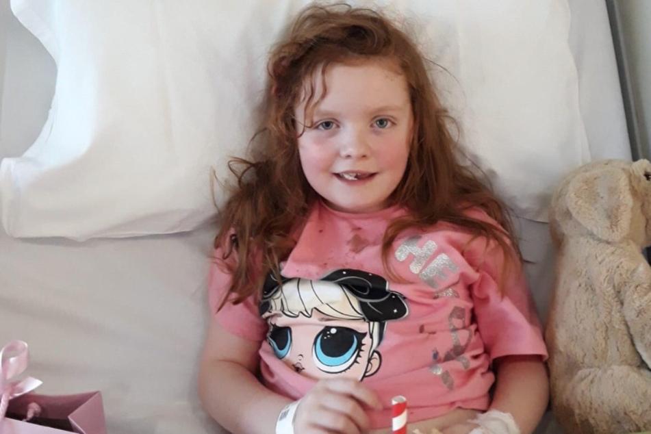 Claudia Carrick (7) hat nicht mehr lange zu leben.