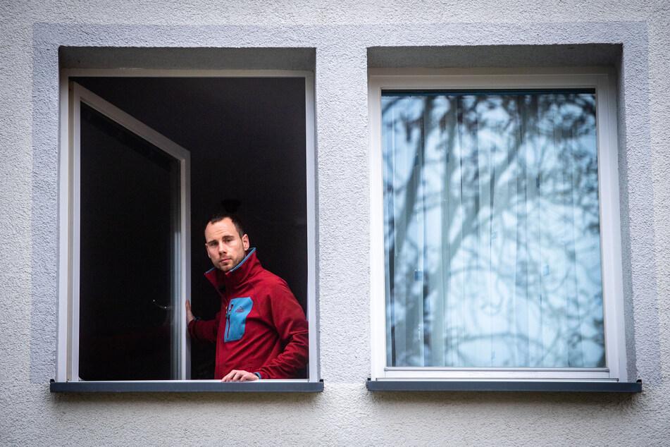 Marco Gubka (34) hat sich nach einer Warnung seiner Corona-App in häusliche Selbstisolation begeben.