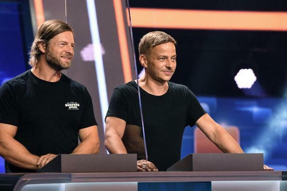 Hart wie ein Baum (Henning Baum, 48) und cool wie ein Profi-Killer in GOT (Tom Wlaschiha, 47) müssen nun zeigen, was sie drauf haben - beim ARD-Quiz!