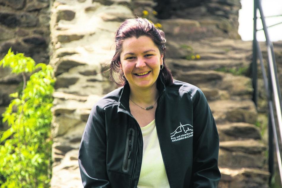 Kristin Baden-Walther ist Leiterin des Erzhammers und Gästeführerin in Annaberg-Buchholz.