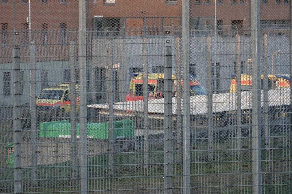 Feuer bricht in Jugendhaftanstalt aus