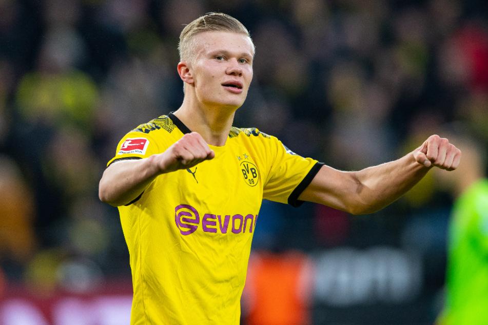 Erling Haaland (19) hat in der Bundesliga einen Traumstart hingelegt.