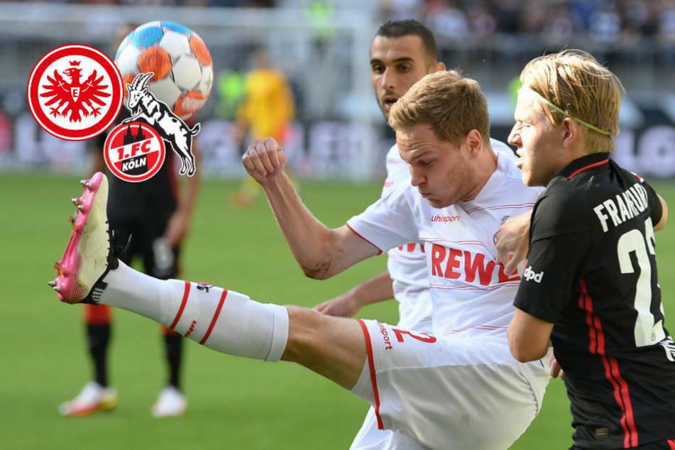 Rasantes Remis gegen 1. FC Köln: Eintracht Frankfurt setzt Sieglos-Serie fort