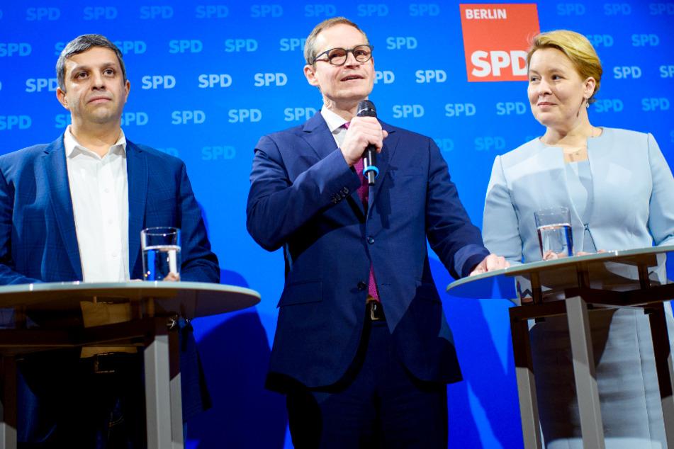 Dritter Anlauf für Giffey-Wahl: Bekommt die Berliner SPD endlich ihre neue Parteispitze?