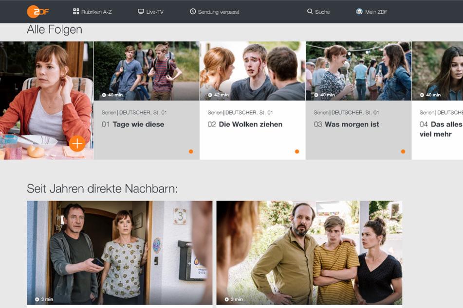 """Die vier Folgen der Miniserie """"DEUTSCHER"""" sind vorab in der ZDFmediathek zu sehen."""