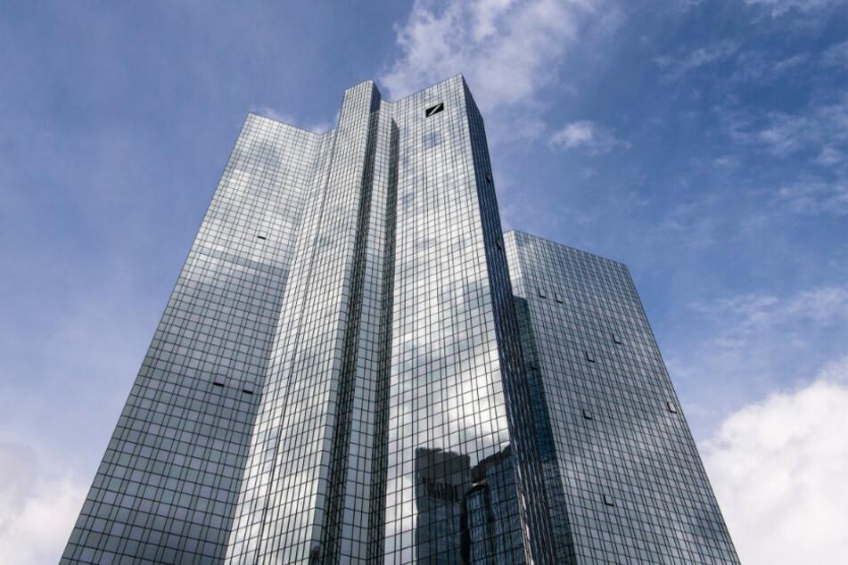 Die Zentrale der Deutschen Bank in Frankfurt.