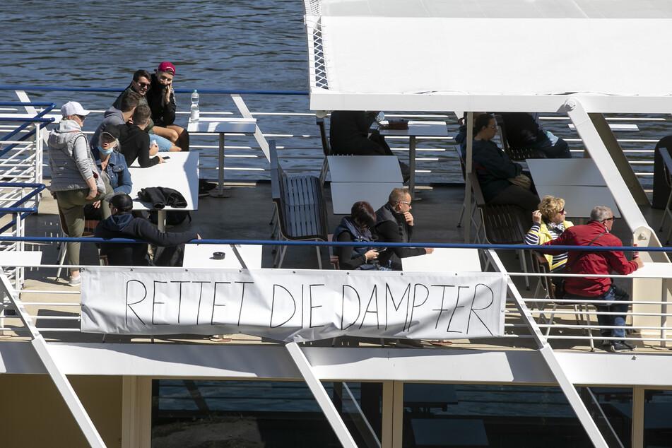 Der traurigste Saisonstart der Weißen Flotte: Das erste Schiff legte wieder ab
