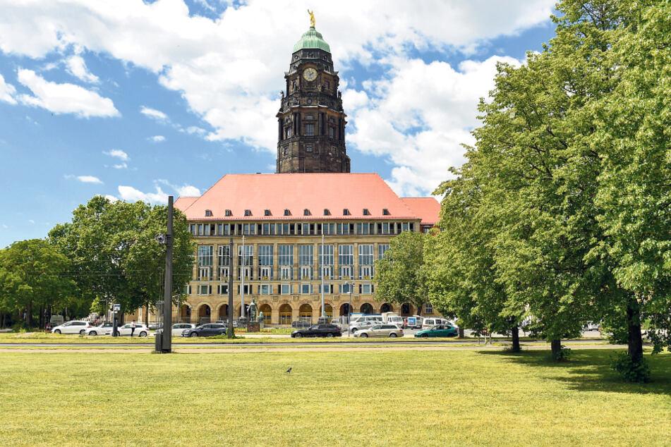 Das Rathaus stellt seinen Mitarbeitern gut 100 Diensträder zur Verfügung.