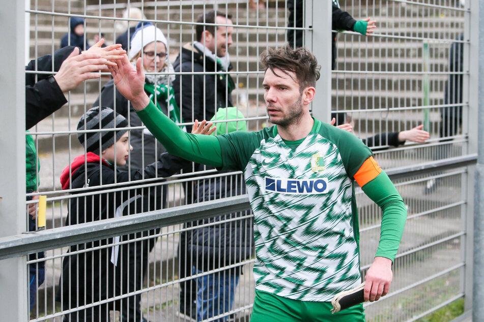 Stefan Karau (35) bleibt den Fans der BSG noch mindestens bis zum Sommer 2022 erhalten.