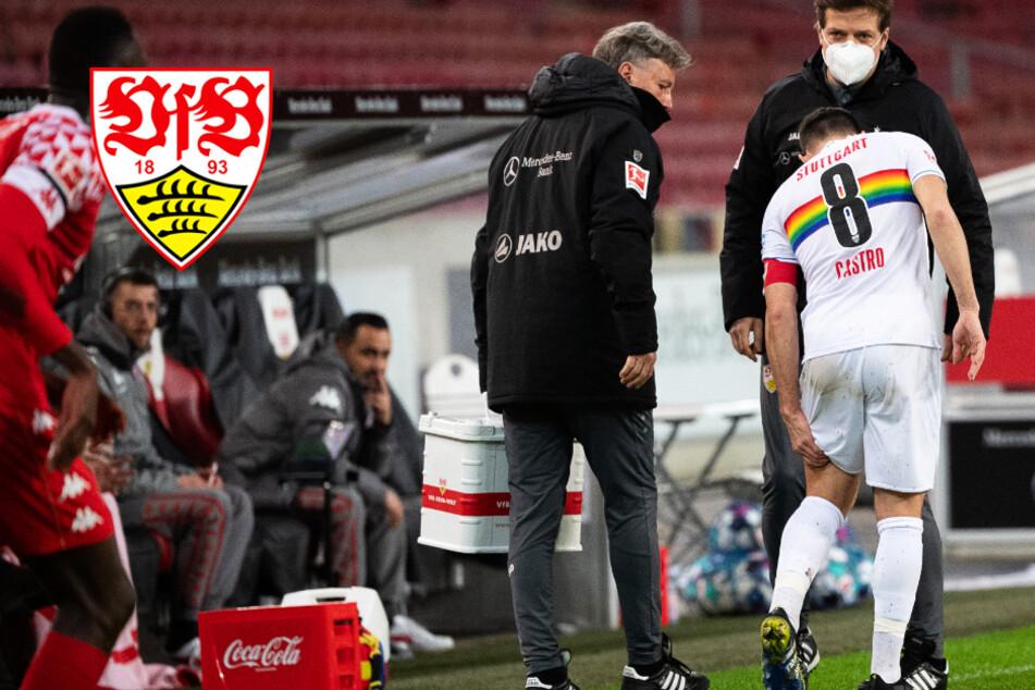 Ausgerechnet beim Jubiläum verletzt: VfB-Kapitän Castro droht lange Pause!