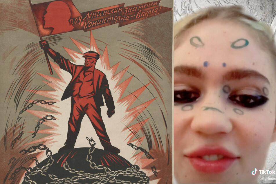 Elon Marx? Grimes drives TikTok wild with her dreams of AI communism