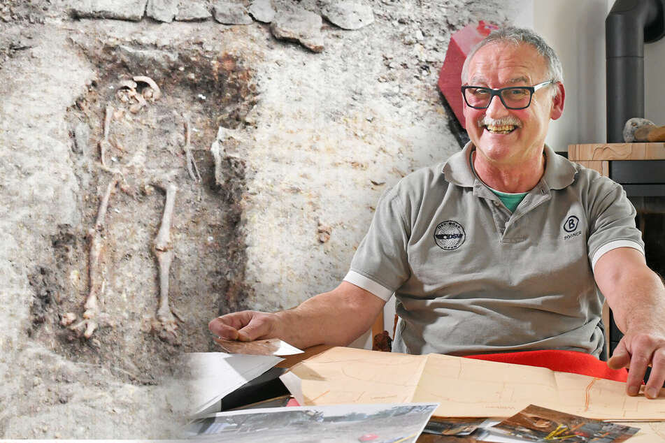 Rentner aus Sachsen entdeckt beim Hausbau Dutzende Gräber