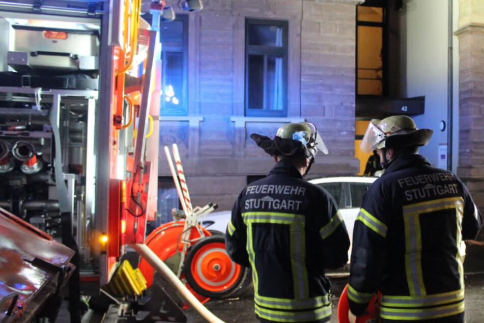 Stuttgart: Plötzlich war da Rauch: 78-Jährige bei Feuer verletzt