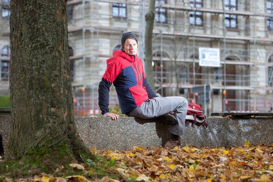 Jost Kobusch (27) hat an der TU Chemnitz studiert, nun musste er eine Mount-Everest-Mission abbrechen. (Archivbild)