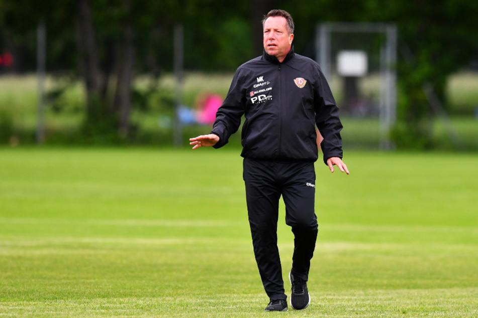 Dynamo-Coach Markus Kauczinski (50) startet mit seinen Spielern am 4. August in die Vorbereitung auf die neue Saison.