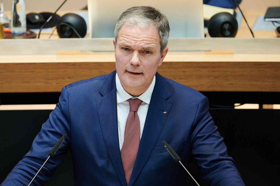 Fraktionschef Burkard Dregger (55, CDU)