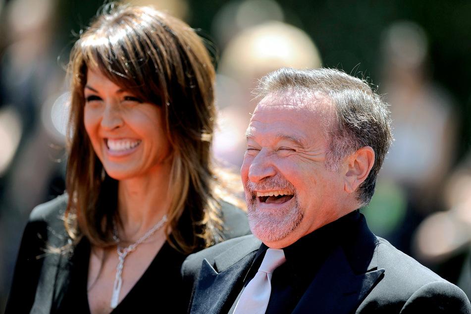 Robin Williams (†63) und seine Frau Susan Schneider (57).