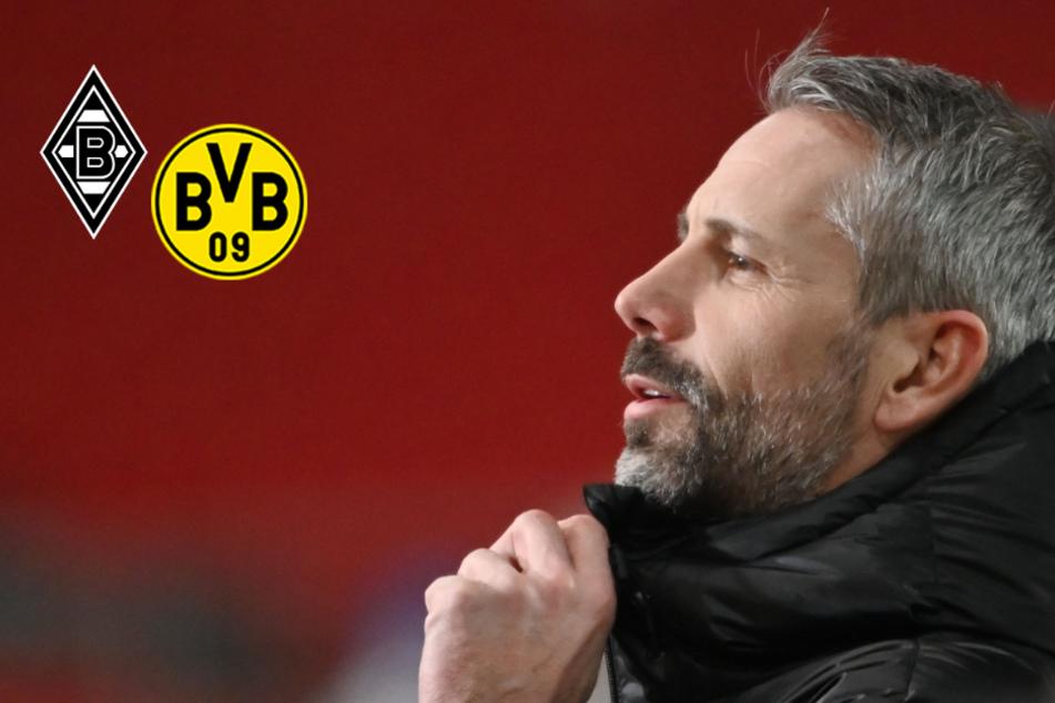 Vor Duell mit dem BVB: So reagiert Gladbach-Trainer Marco Rose auf Wechsel-Gerüchte