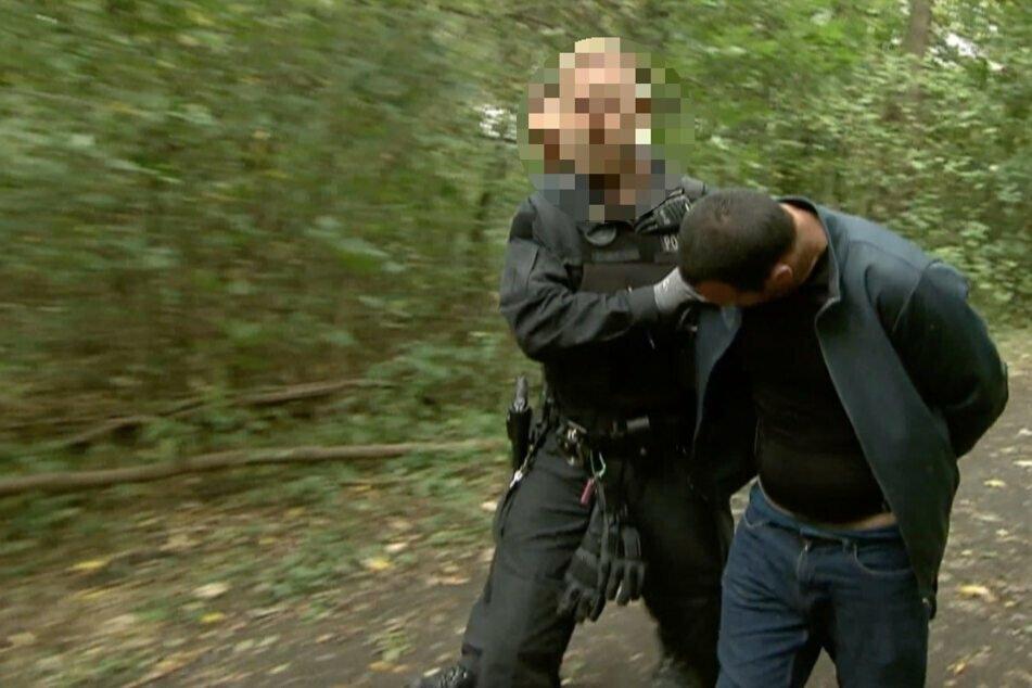 Der 42-jährige Russlanddeutsche wurde noch am Dienstag im angrenzenden Paunsdorfer Wäldchen geschnappt.