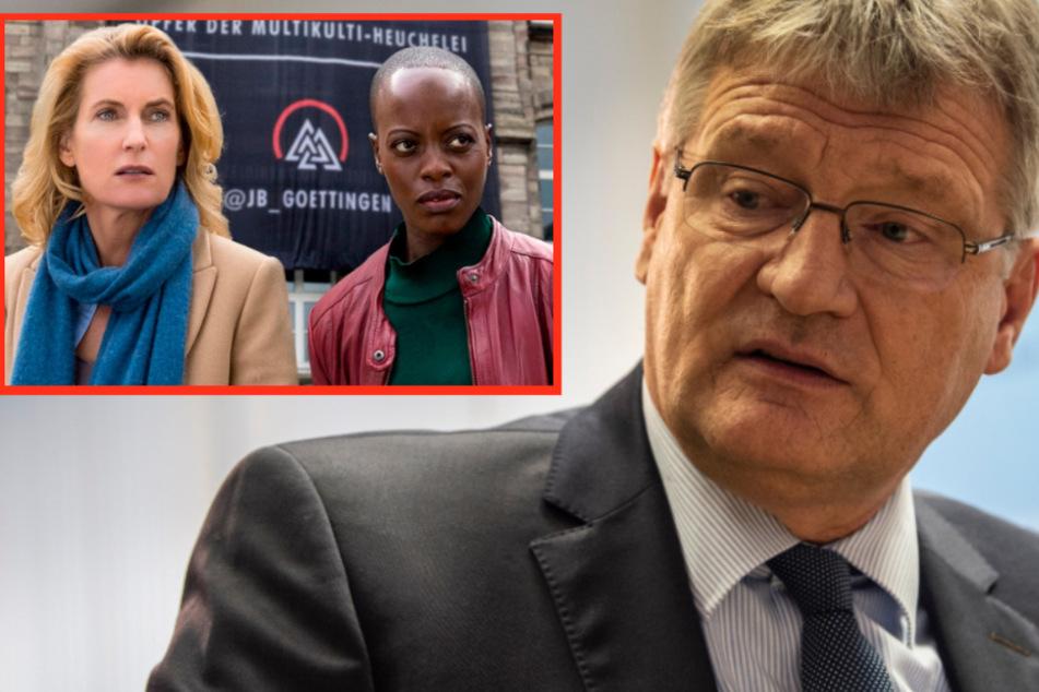 """Nach Neonazi-""""Tatort"""": AfD-Meuthen wirft der ARD Gehirnwäsche vor"""