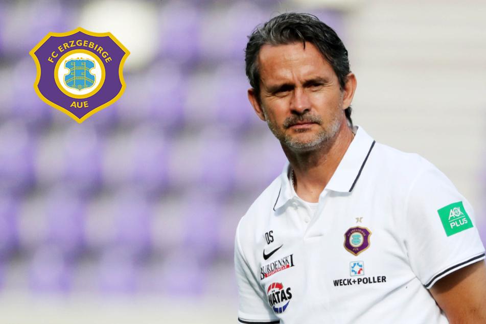 """Aue-Coach Schuster vermisst """"absolute Gier""""!"""