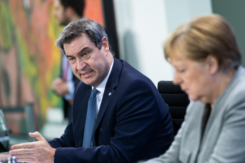 Das Vertrauen der Bevölkerung in Markus Söder (53, CSU) und Angela Merkel (65, SPD) wächst weiter.
